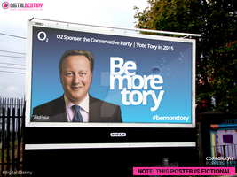 Be More Tory | O2 Conservative Party 2015 by DigitallyDestined