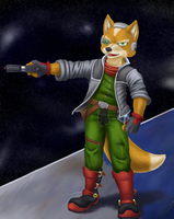 Brawl Veteran Starfox by Drasune