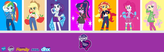 My New Equestria Girls Vectors by trungtranhaitrung