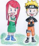 Naruto and Kushina by NicoTopin
