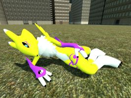 Renamon gmod 2 by Kenixan2