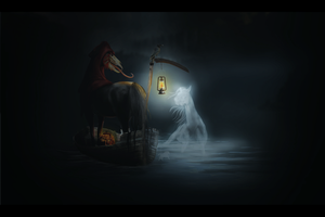 The Ferryman by BlueHorseStudios