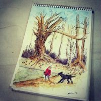Red Riding Hood by JujuJuhu