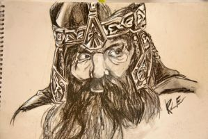 Gimli -  lord of the rings by PeaceApricotjuice