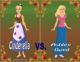 Cinderella vs. Ashley by Sunshine-Girl524