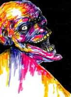 I Bathed In the Colors of Madness by Uncanny-Oddball