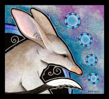 Greater Bilby as Totem by Ravenari