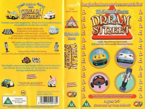 My Friends From Dream Street - Original VHS Cover by RetroPokeFan