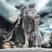 White Lion by Thomgirl