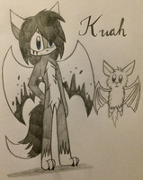 Kuah The Black Fox by ChibiChibiWoofWoof
