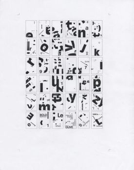 Letraset Collage by MrBadger