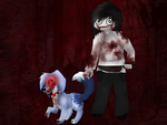 Jeff the Killer i Shiro by wikitygrys