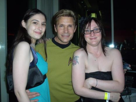 Me and Katy and Vic Mignogna by emopuppy07