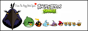 All Space Angry Birds - by JoseF1611