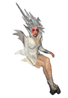 Lady gaga Gramy 2010 png by javithoxs123