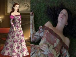 Anne Boleyn's Hever Castle Gown by Inuyashasmate