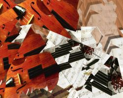 Digital Art - The Violin by cubist1234