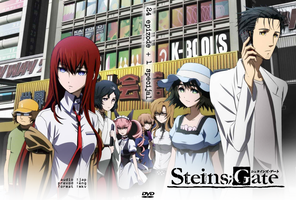 Steins Gate DVD cover by FIKAndzo