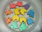 Pac Man Cookies by EVILTurtle333
