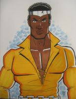 Luke Cage Power Man by calslayton