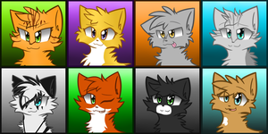 DawnClan Gift Icons by MistDapple