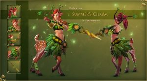 Enchantress Summer's Charm by Anuxinamoon