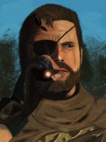 Punished Snake (Speedpainting) by Dragonborn91