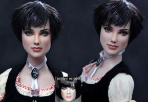 Twilight Alice Cullen doll by noeling