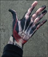 Skelehand Palm by Leonca