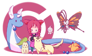 Kristan's Pokemon team by pixielog