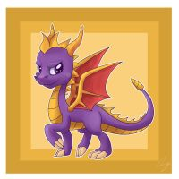 Spyro by steffy-beff