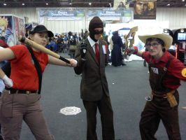 TF2 people cosplay by myistic