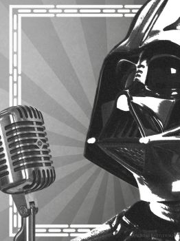 Darth Vader Microphone by TDSOD