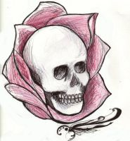 Skull by volatile-chemical