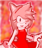 Amy Rose by Triplet99c