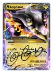Vs2 UTW - Thank You 003 M Ampharos EX by cscdgnpry