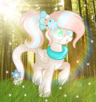 Art Trade |Galxty Shy by BloodLover2222