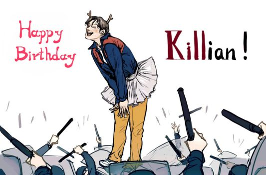 Happy Birthday, Killian! by AL-lamp