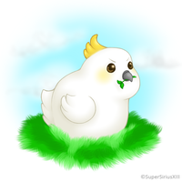 Daily Art - 031 - Chubby Pixel by SuperSiriusXIII