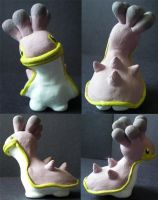 Shellos-Clay Figure by 13anana