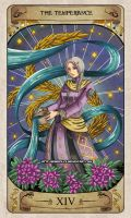 Cerebium Tarot 14 - The Temperance by Hedrick-CS