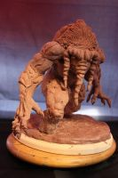 Man-Thing WIP by Blairsculpture