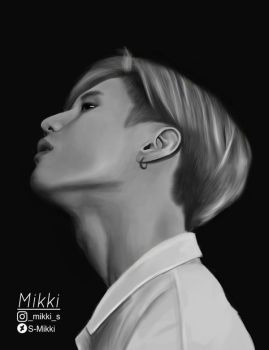 Taemin Shinee Fan Art by S-Mikki