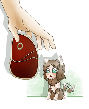 aph: Tiny Wolfy by Rose-McSugar