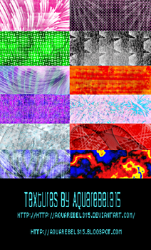 Texture Pack 4 by aquarebel315