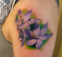 flowers tatt00 by jrunin