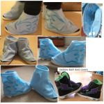 rainbow dash boot covers by sasukeharber
