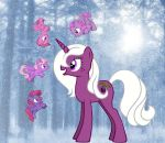 Sugar Plum and the Pixie Ponies by Chroias