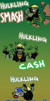 HULKLING SMASH by Dakt37