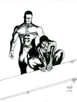 DD-Spidey_The-Vigilantes_Inks by Andre-VAZ